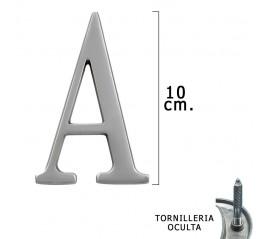 "Letra Metal ""A"" Plateada..."