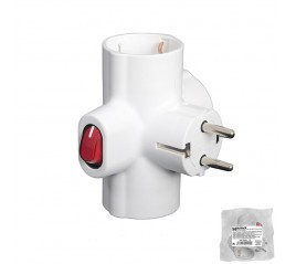 Adaptador Triple Schuko 16...
