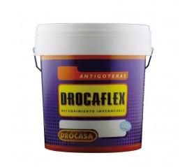 PINTURA DROCAFLEX GRIS ANTIGOTERAS 15 LTS