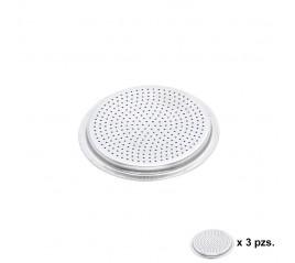 Filtro Cafetera Aluminio Classic / Inducción 2 Tazas (3 Unidades)