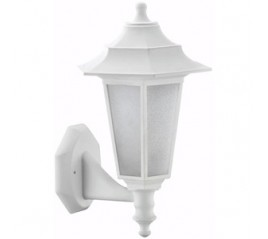 FAROL BEGONYA PARED E27 POLIPROPILENO 49353 BLANCO