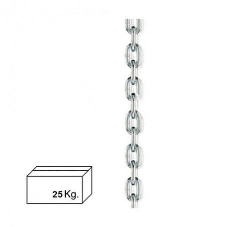 Cadena Zincada 9 mm. (Caja 25 kg.)