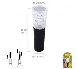 Tapon De Vacio Para Vino Bomba Incluida 1 Pieza