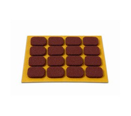 BLISTER DESLIZADOR 16 RECTANGULOS MARRON