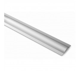 TAPACABLES 53MM ADHESIVO INOX 100 CM