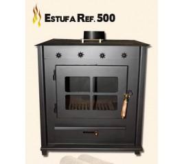 ESTUFA REF.500 REDONDO (SIN CALIENTAPLATOS)