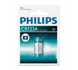 PILA FOTOGRAFIA PHILLIPS CR123A (1 UD)