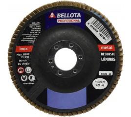 DISCO DE LAMINAS DESBASTE INOX-METAL 50512-40 BELLOTA