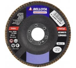 DISCO DE LAMINAS DESBASTE INOX-METAL 50512-80 BELLOTA