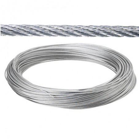 Cable Galvanizado 14 mm. (Rollo 100 Metros) No Elevacion
