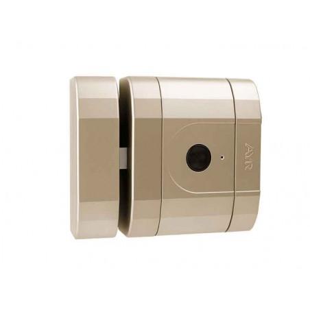 Cerradura Invisible Alta Seguridad Niquel Mate INT-LOCK AYR