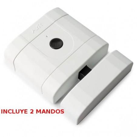 Cerradura Invisible Alta Seguridad Blanco Mate INT-LOCK AYR