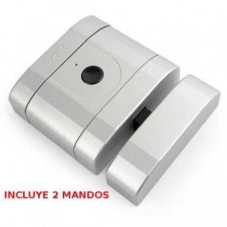 Cerradura Invisible Alta Seguridad Cromo Mate INT-LOCK AYR