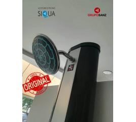 Ducha Piscina Solar 2mt 35 lts Con Grifo Lavapies (Original Siqua)