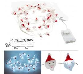 Luces Navidad A Pilas 50...