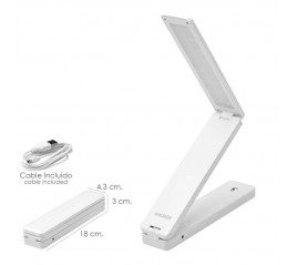 Lampara Led Mesa Plegable...