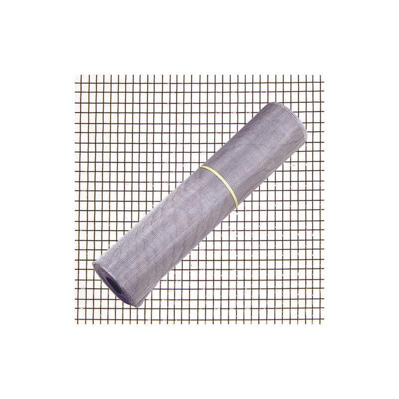 Tela Mosquitera Aluminio 18x14/120  Rollo 30 metros