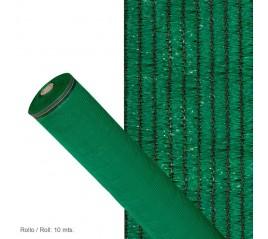 Malla Sombreo 90% Verde Claro 1,0 metros Rollo 10 metros