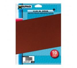 Lija Agua Grano 180 (Pack...