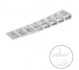 Cuñas Calza Muebles Ajustable / Recortable Transparente (Blíster 9 Piezas)