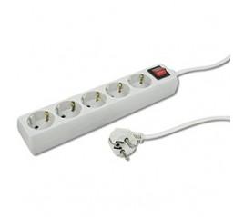Base 5 tomas cable 1,5 metros + interruptor Ref.09224