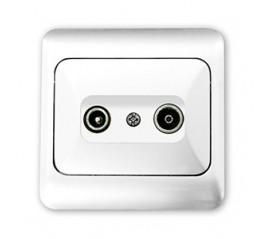 Base TV Serie blanco Ref.087354/080492