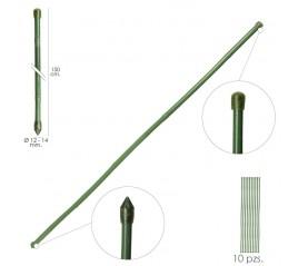 Tutor Varilla Plástico Efecto Bambú Ø 12  - 14 mm. x   150 cm. (Paquete 10 Unidades)