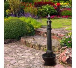 Fuente Jardín Pie Hierro Fundido Burgerland Sin Grifo 46x29,5x125 (Alt) cm.