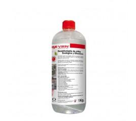 Desinfectante Liquido Ox-Virin, Con Tapón, 1 Litro, Ecológico