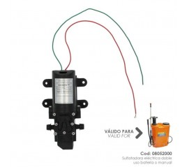 Motor Para Sulfatadora 08052000 Sulfatadora Eléctrica A Batería 12 V / 8 Amperios