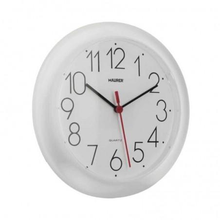 Reloj De Pared Ø 25 cm. Color Blanco