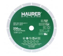 Disco De Corte Para Madera y Plásticos Ø 230 x 1,6 mm.