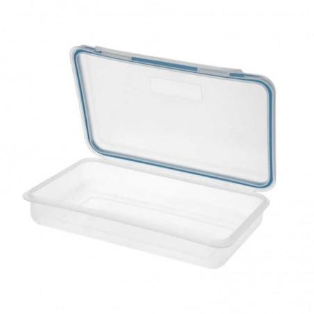 Portaembutidos Cierre Hermético Plástico Rectangular 15x23,5 cm.