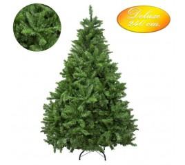 Árbol De Navidad Deluxe 240 cm. 2136 Ramas PVC