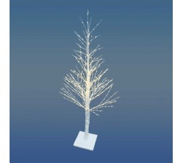 Árbol De Navidad Luces Led 120 cm. Con 460 microleds Luz Cálida Apto interiores y exteriores.