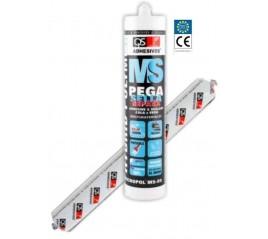 Cartucho 290 ml Polímero Sellador + Adhesivo Blanco Tecnopol MS-50 QS