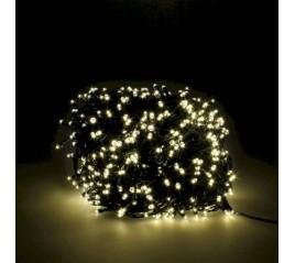 Guirnalda Luces Navidad 1000 Leds Color Blanco Calido. Luz Navidad Interiores y Exteriores Ip44