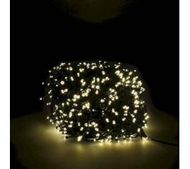 Guirnalda Luces Navidad 500 Leds Color Blanco Cálido. Luz Navidad Interiores y Exteriores Ip44