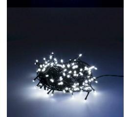 Guirnalda Luces Navidad 180 Leds Color Blanco Frío Luz Navidad Interiores y Exteriores Ip44