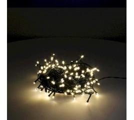 Guirnalda Luces Navidad 180 Leds Color Blanco Cálido. Luz Navidad Interiores y Exteriores Ip44