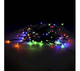 Guirnalda Luces Navidad 100 Leds Color Multicolor. Luz navidad interiores y exteriores IP44.