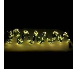 Guirnalda Luces Navidad 1340 Leds Cascada Cubreárbol Blanco Cálido. Ip44. Luz Navidad Interiores y Exteriores