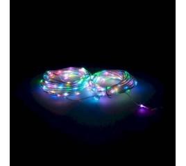 Guirnalda Luces Navidad 200 Leds Multicolor RGB Con Mando. Luz Navidad Interiores y Exteriores Ip44
