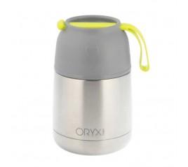 Termo Sólidos y Líquidos Acero Inoxidable Antigoteo 430 Ml. 100 % Hermético. Sin BPA