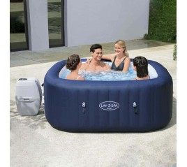 Piscina Lay-Z-Spa Hawaii 180x180x71 cm. 140 Airjets.