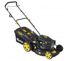 Cortacésped Gasolina 146 cc. Anchura de corte 46 cm. Bolsa 60 litros. 7 alturas de corte (25 - 75 mm.).