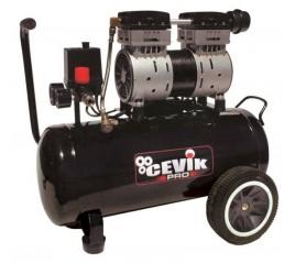 Compresor silencioso CEVIK PRO 24L1,5HP
