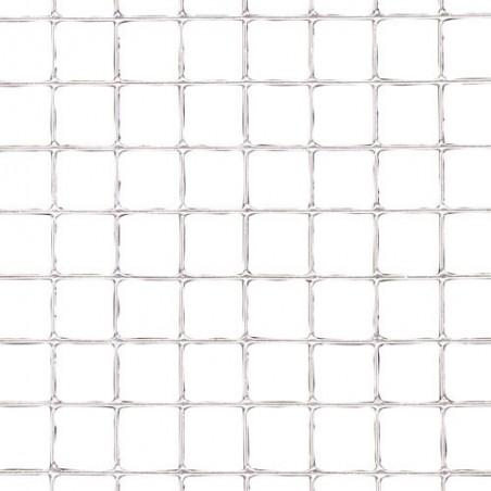 Malla Electrosoldada Galvanizada 6x6 / 100 cm. rollo 25 Metros Uso Domestico