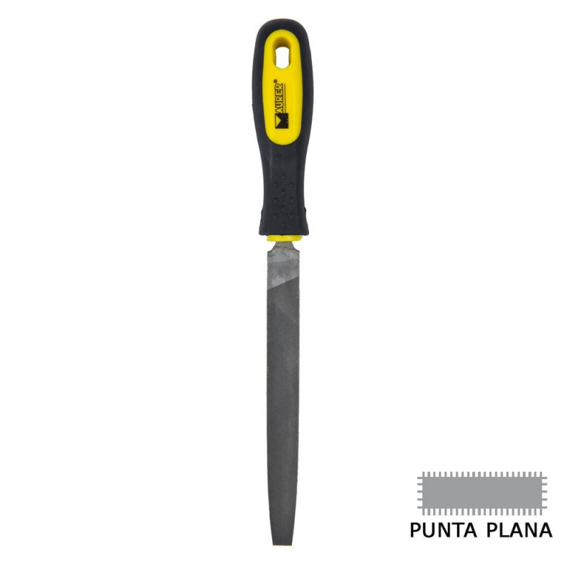 "Lima Maurer Con Mango Plana Punta Entrefina 6"""