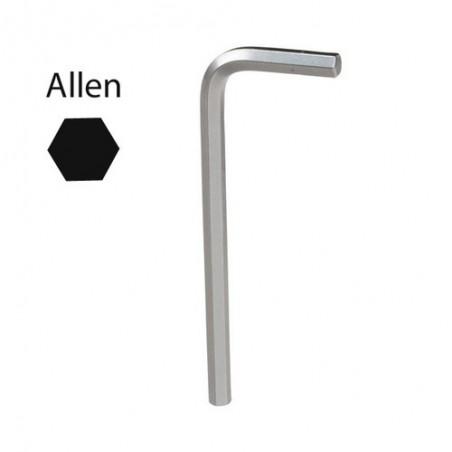 Llave Allen Maurer Cromo Vanadio Profesional 6,0mm